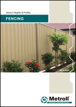 Fencing Product Brochure - Metroll